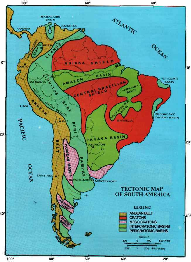 South America's Geology on landscape map of south america, industrial map of south america, agricultural map of south america, soil map of south america, peopling of south america, physical map of south america, geographical center of south america, grand tour of south america, natural map of south america, tectonic map of south america, linguistic map of south america, land use map of south america, map of volcanoes in north america, location of patagonia in south america, circumnavigation of south america, earthquake map of south america, precambrian north america, historic map of south america, thermal map of south america, large map of south america,